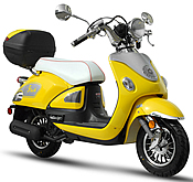 EPA/DOT/CARB Approved BMS The Legend 150cc Scooter w/ Big Rear Trunk & Remote (99.9% Assembled)