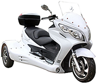 "2016 Ice Bear Jumbo Size Design 300cc Motor Trike ""ZODIAC-300"" Automatic w/ Reverse (PST300-19), optional full assembly and test. Free shipping to your door"